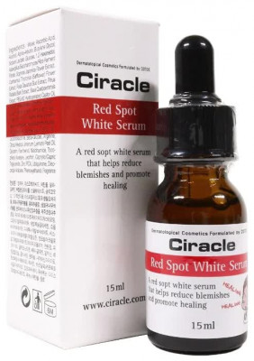 Сыворотка для лица осветляющая Ciracle Red Spot White Serum 15мл: фото