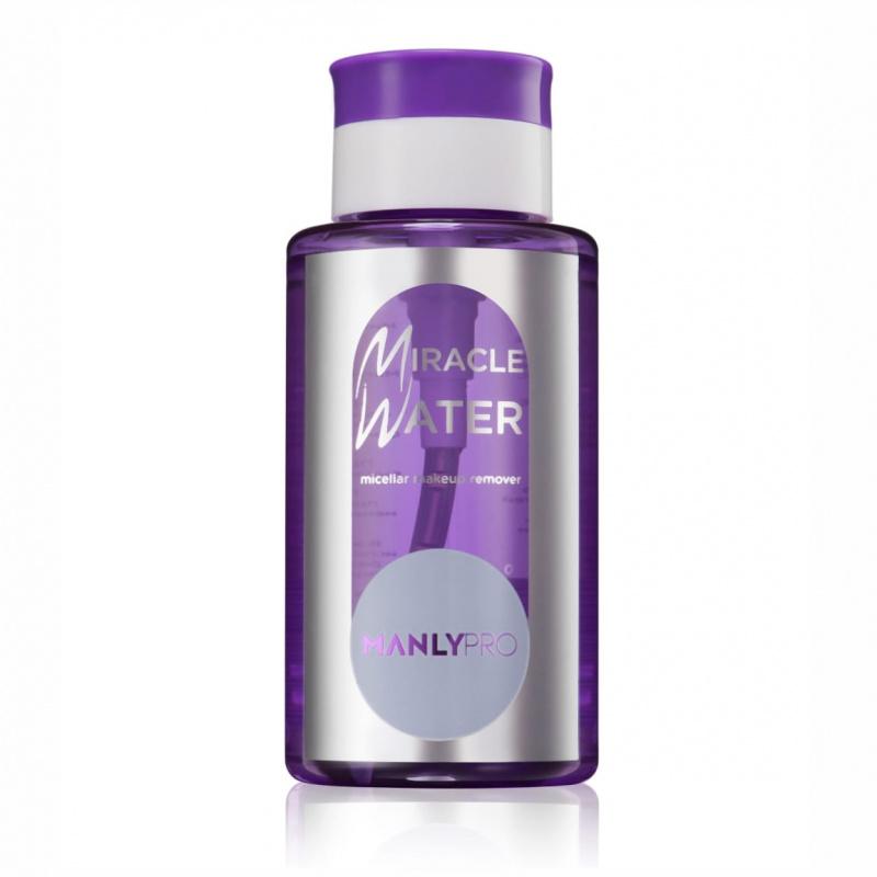 Мицеллярная вода для снятия стойкого макияжа Manly PRO Miracle Water MW 250мл: фото
