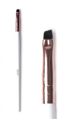 Кисть скошенная для окрашивания бровей мини SEXY: фото