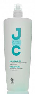 Шампунь для нормальных волос Белая Кувшинка и Крапива Barex JOC Care 1000мл: фото