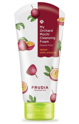 Пенка очищающая с маракуйей Frudia My Orchard Passion Fruit Mochi Cleansing Foam 120 мл: фото