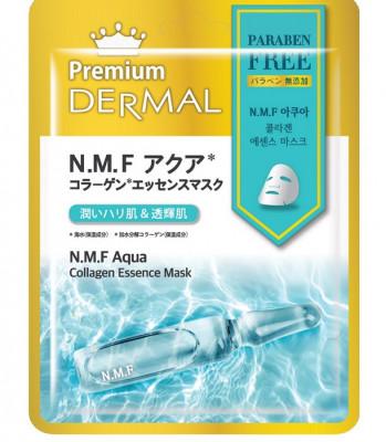 Тканевая маска комплекс натурального увлажнения Dermal Premium N.M.F. Aqua Collagen Essence Mask 23мл: фото