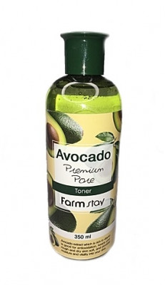 Тонер с экстрактом авокадо FarmStay AVOCADO PREMIUM PORE TONER 350мл: фото