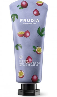 Гель-скраб для душа с маракуйей Frudia My Orchard Passion Fruit Scrub Body Wash 200 мл: фото