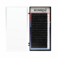 Ресницы Bombini Черные, 20 линий, L, 0.10, 8: фото