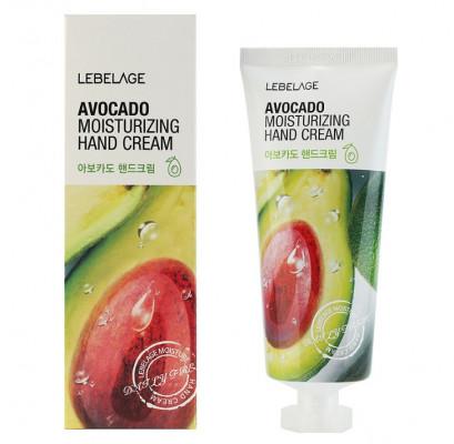 Крем для рук увлажняющий с авокадо Lebelage Moisturizing Hand Cream Avocado 100мл: фото
